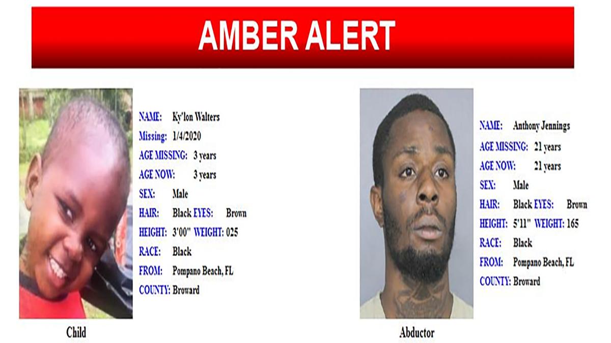 Missing Broward County Boy Found Safe After Amber Alert Nbc 6 South Florida