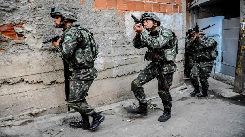 010819 Brazilian Army