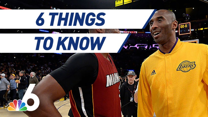 6 Things to Know – Miami Heat Remembers Kobe Bryant, Super Bowl Teams Arrive