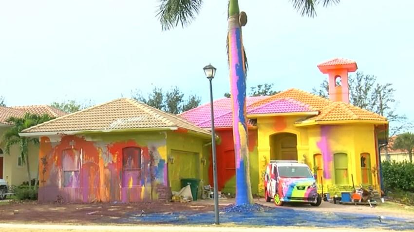 Investigation Into Paint Job Making $500K Florida Home Look Like Cartoon