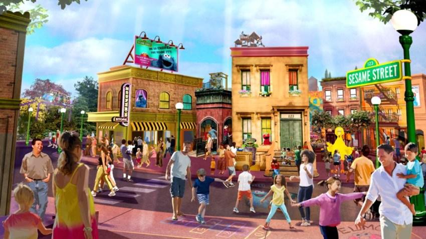 030619 SeaWorld Sesame Street land