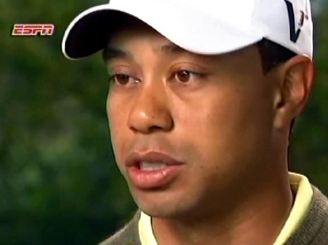 Tiger Woods Interviews