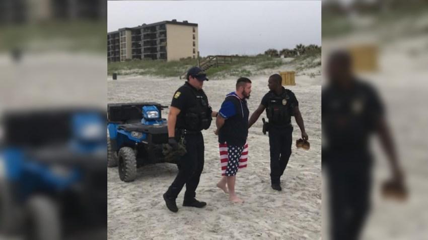 Mario Matthew Gatti was taken into custody by police on Jacksonville Beach.