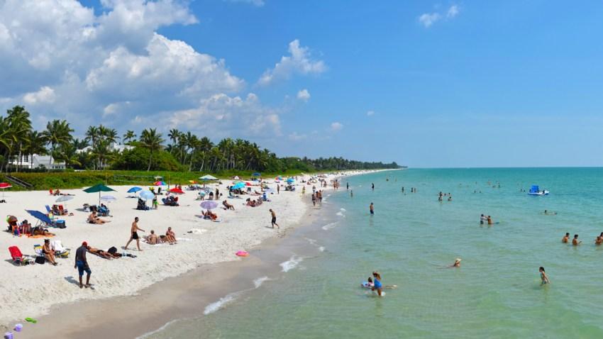 Narples, Florida beach scenery