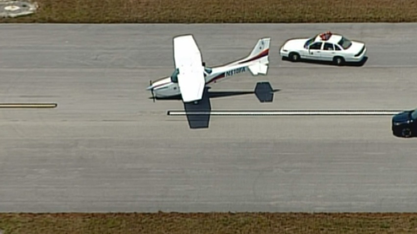 050616 plane rough landing opa-locka airport