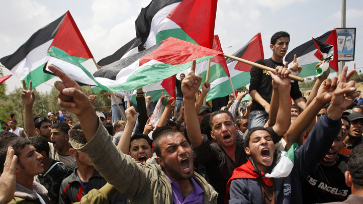 052911 palestinian protesters