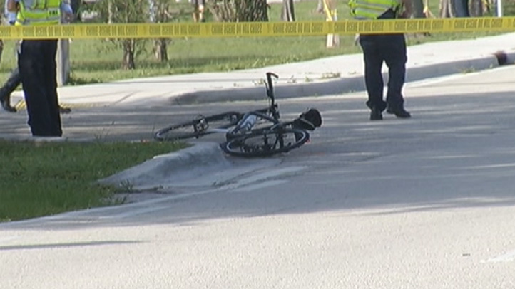 062013 coral springs bicyclist hit