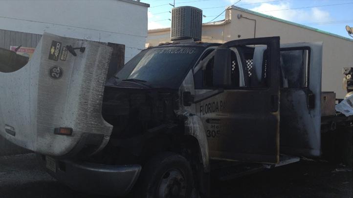 071213 truck arson florida keys