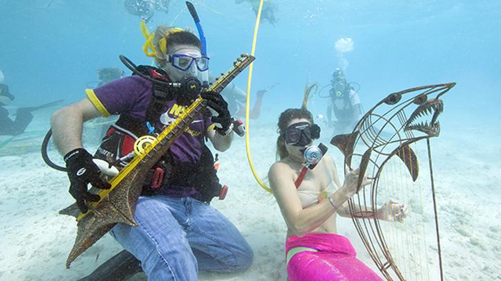 071313 underwater music festival florida keys