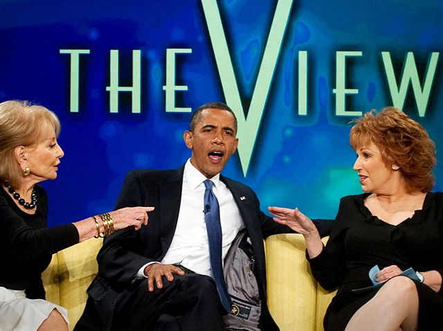 072810 Obama The View