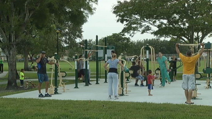 Free Outdoor Gyms Opening In Miami Dade