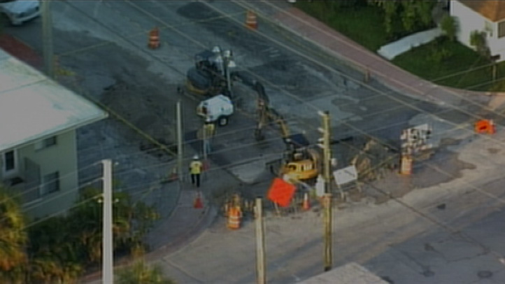 080613 miami beach water main break