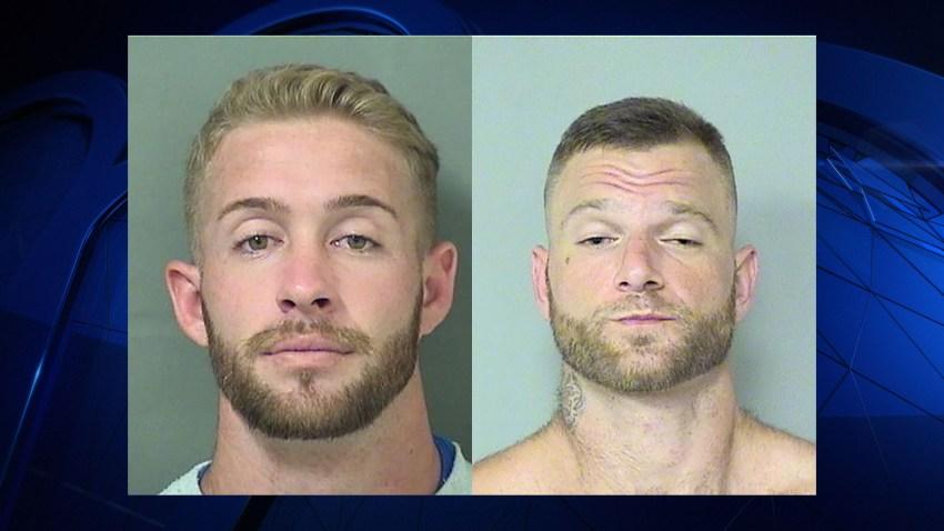 092716 palm beach men arrested gator photo