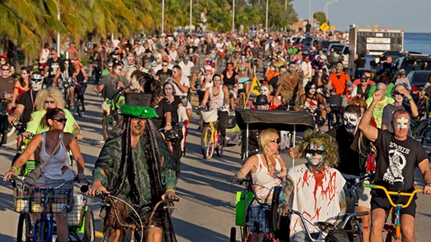 102014 zombie bike ride key west