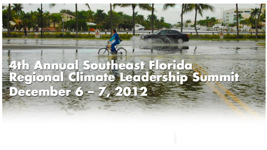 110713 Southeast Florida Regional Climate Leadership Summit
