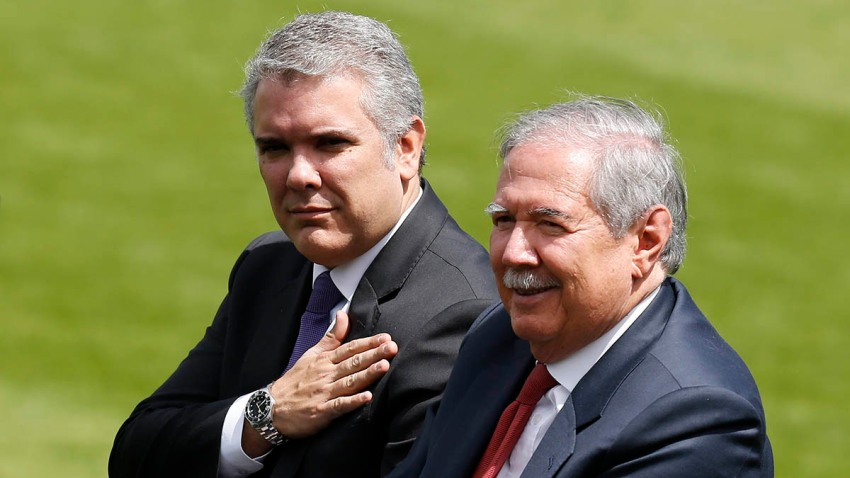 Colombia Defense Minister