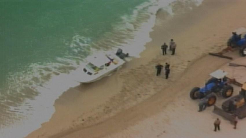 111313 immigrants ashore boat haulover beach