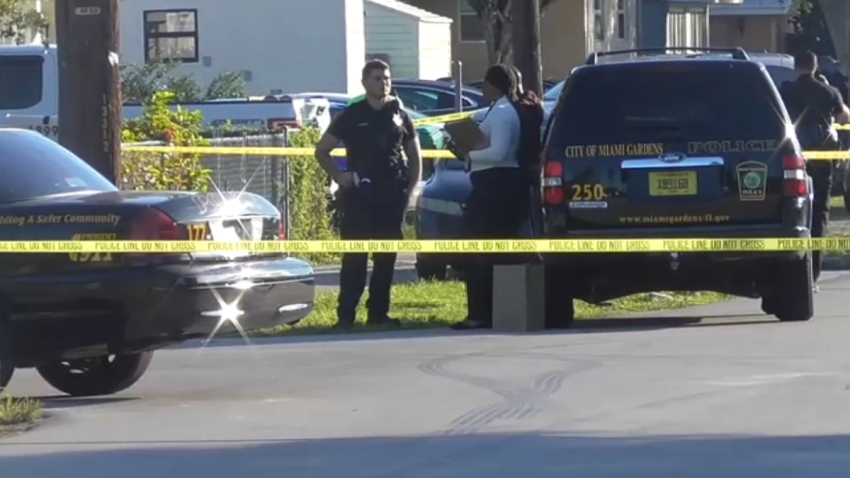 112619 Miami Gardens shooting scene