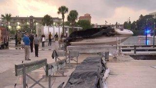 120219 boat explosion largo florida