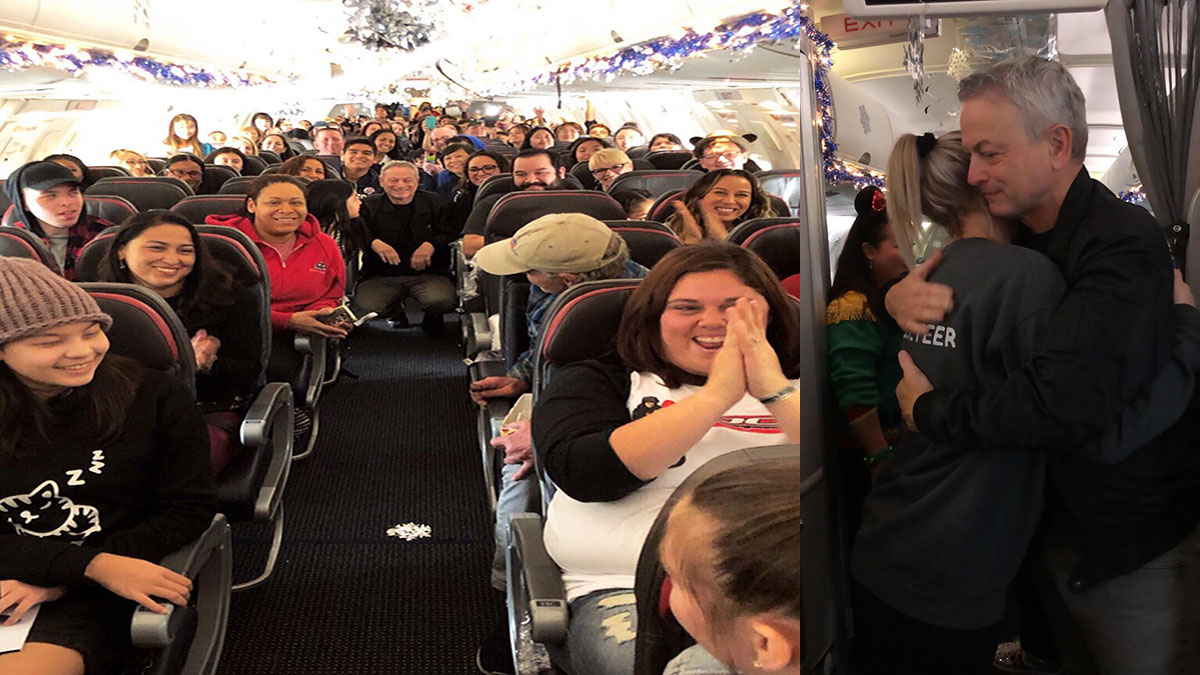Actor Gary Sinise Takes Over 1,000 Gold Star Children on Annual Trip to Walt Disney World