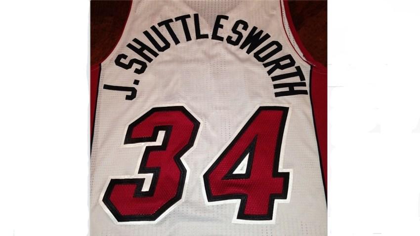 121813 ray allen jesus shuttlesworth miami heat jersey