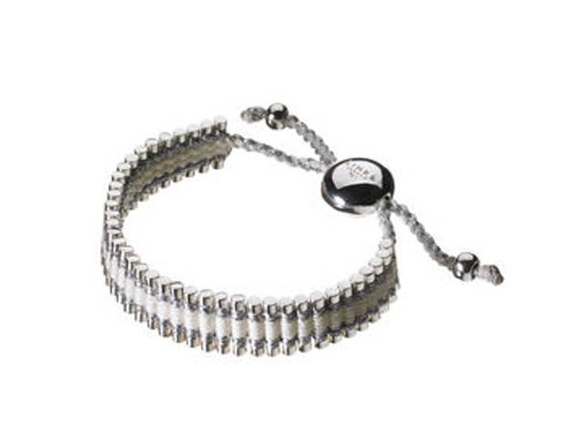 6748-pewter-and-white-friendship-bracelet-image-1