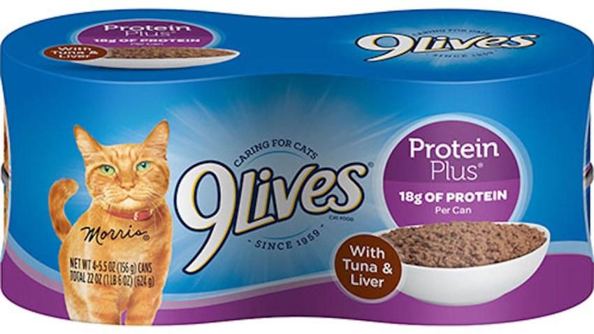 9Lives Cat food Recall