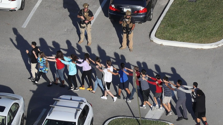 Marjory Stoneman Douglas students in Parkland, Florida