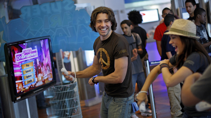 Ubisoft�s Dance on Broadway and cast of HAIR