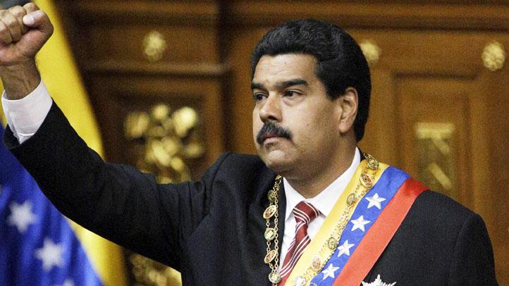 APTOPIX Venezuela Maduro