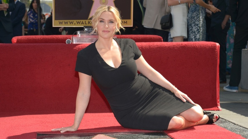 Kate Winslet Receives a Star on Walk of Fame