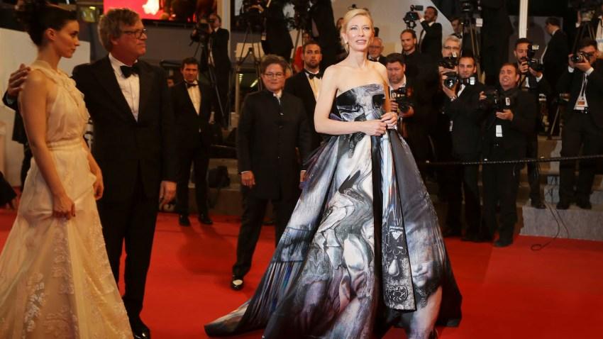 France Cannes Carol Exits