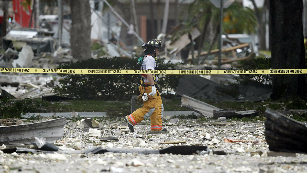 Open Natural Gas Line Caused Plantation PizzaFire ...