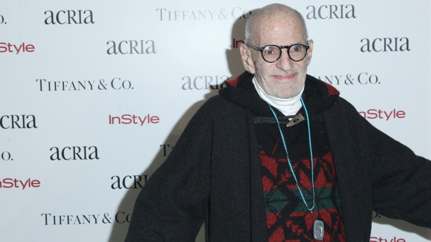 Playwright Larry Kramer attends Acria's 19th Annual Holiday Dinner Benefit at Skylight Modern on Wednesday, Dec. 10, 2014, in New York.