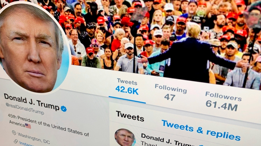 Trump Twitter Warning Labels