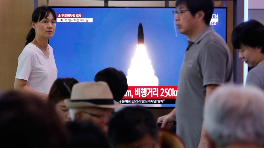 South Korea North Korea Launch