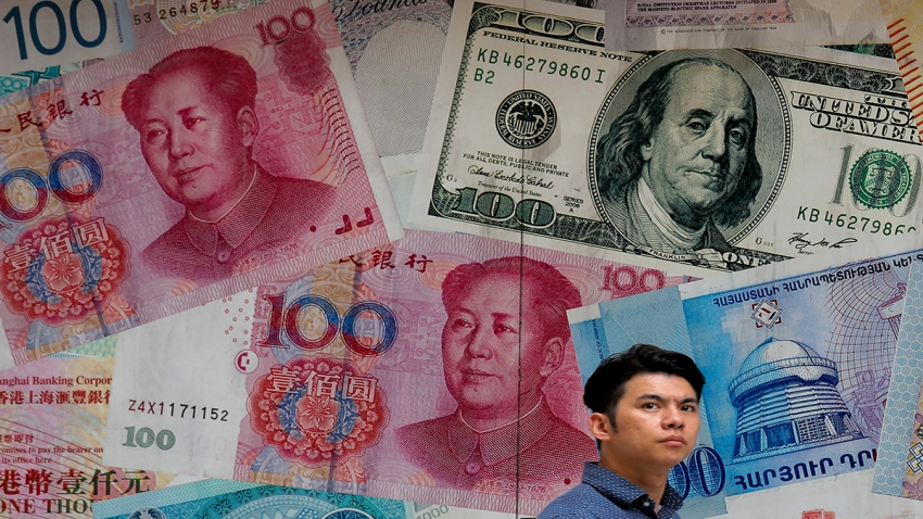 APTOPIX China Trade Currencies