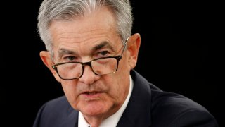 In this Sept. 18, 2019, file photo, Federal Reserve Board Chair Jerome Powell speaks at a news conference following a two-day meeting of the Federal Open Market Committee in Washington.