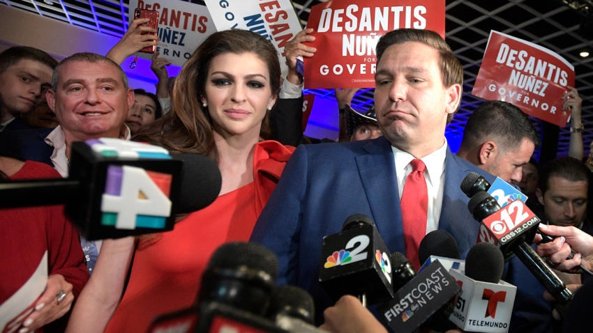 CORRECTION Giuliani's Fixers Florida Governor