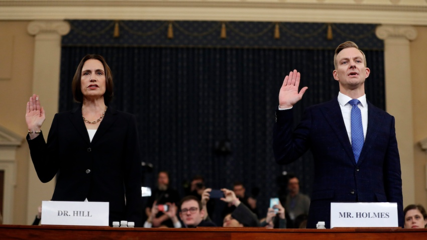 APTOPIX Trump Impeachment