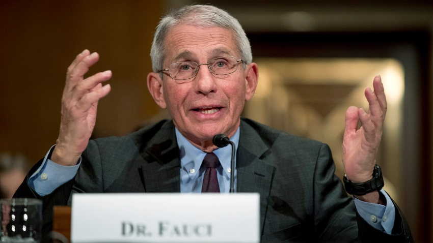 In this March 3, 2020, file photo, National Institute for Allergy and Infectious Diseases Director Dr. Anthony Fauci testifies before a Senate Health, Education, Labor and Pensions Committee hearing on the coronavirus on Capitol Hill in Washington.