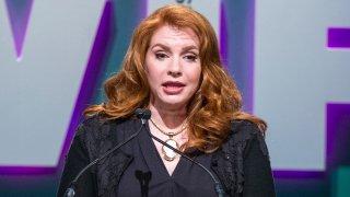 Meyer speaking at the Women in Film Awards