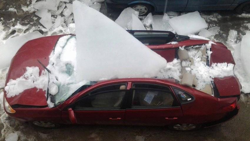 Amanda Hubbard car crushed