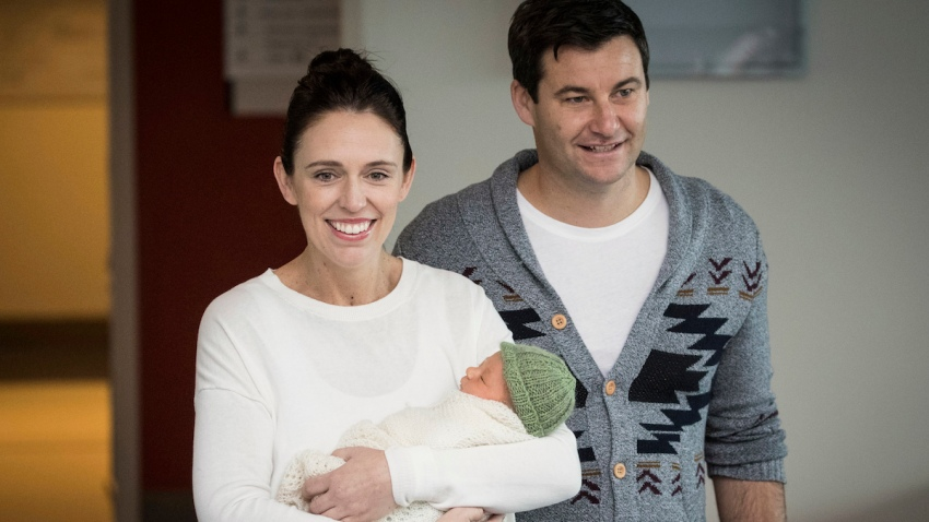 New Zealand Prime Minister Baby