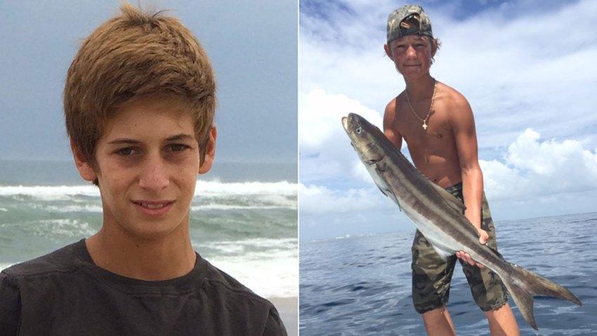 Missing Teen Fishermen