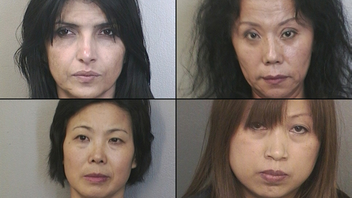 3 of 5 Women Arrested in Massage Parlor Busts Face ...