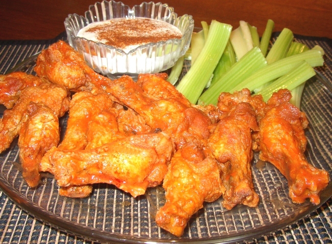 Buffalo Chicken Wings3