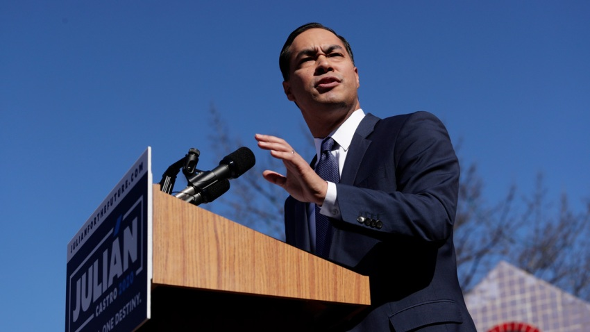 Julian Castro, former San Antonio mayor and Housing and Urban Development Secretary