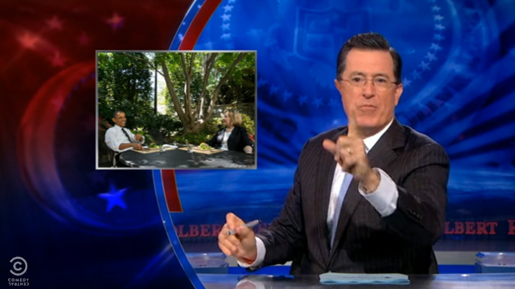 Colbert-Obama-Clinton-Lunch