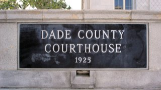 Dade County Courthouse Sign